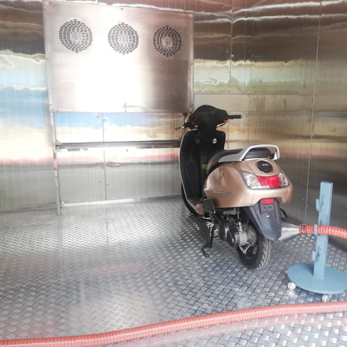 Walk-In Chamber for Vehicle Testing - HIACC